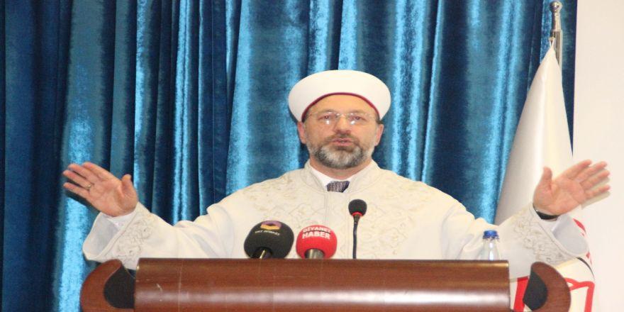 Diyanet İşleri Başkanı Erbaş'tan Çap Önerisi