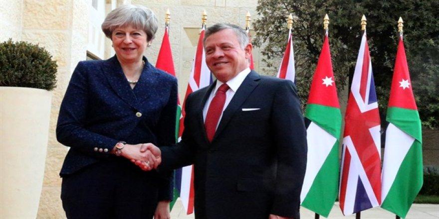 İngiltere'den Ürdün'e 94,5 milyon sterlinlik destek