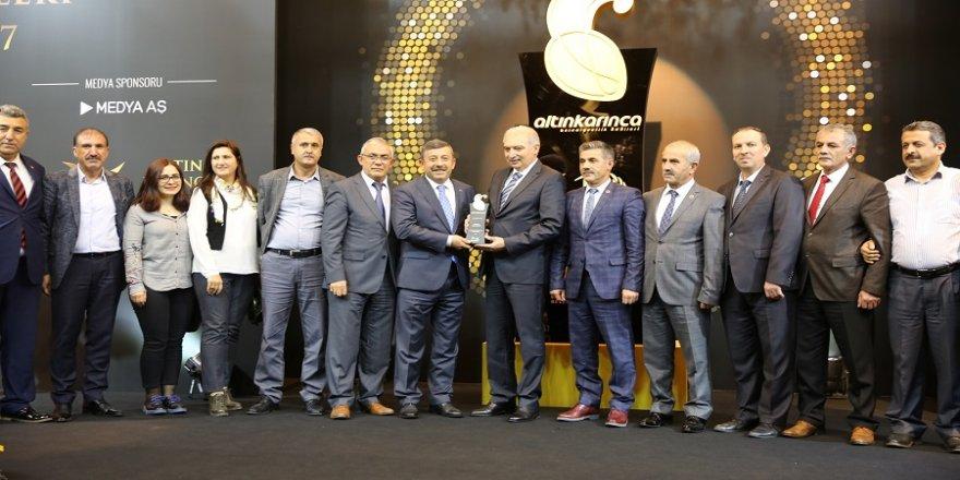 Şehirler ve Kültürler Kaynaşması'na büyük ödül