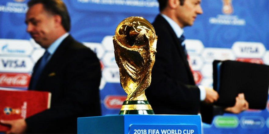 Dünya Kupası kuraları çekiliyor!