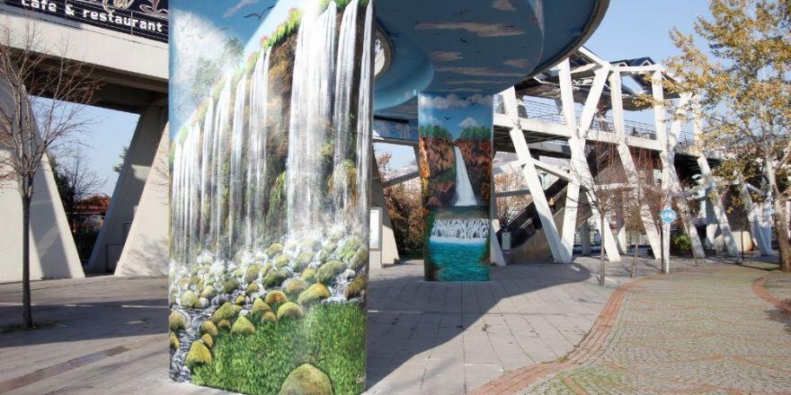 Kocaeli'de sanat, sokaklar ile buluşuyor
