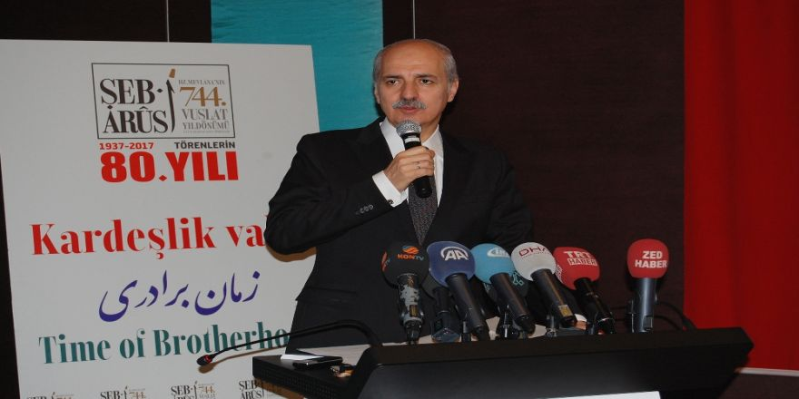 """""""Konya'daki Şeb-i Arus Töreni Tek Olacak"""""""