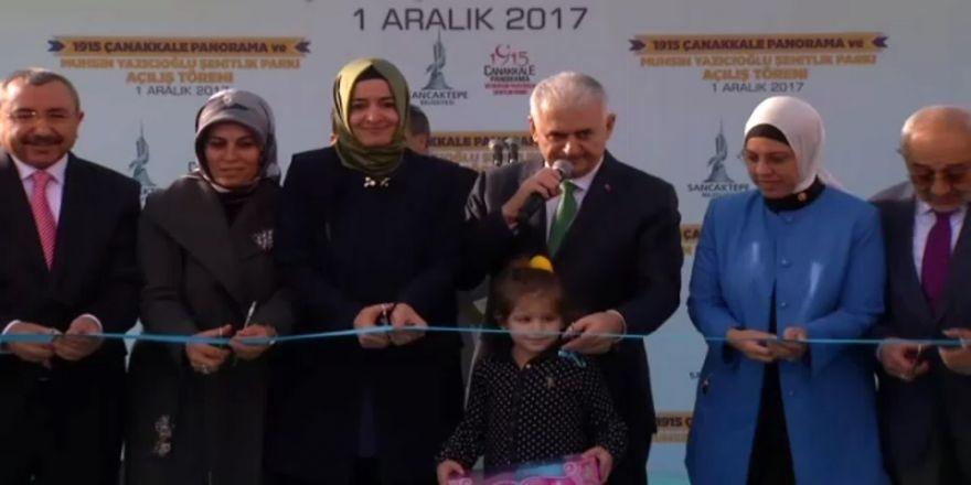 Binali Yıldırım İstanbul'da açılış yaptı