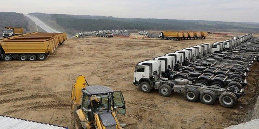 3. Havalimanı için 500 kamyon ve kamyoncu aranıyor