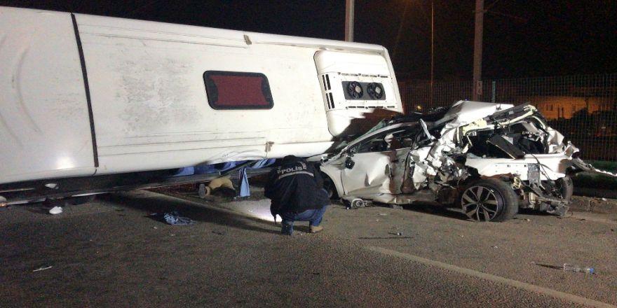 4 Kişinin Öldüğü Kazada 2 Sürücü Tutuklandı