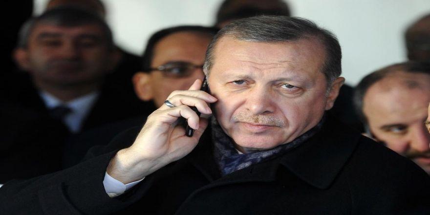 Erdoğan Abbas İle Telefonla Görüştü