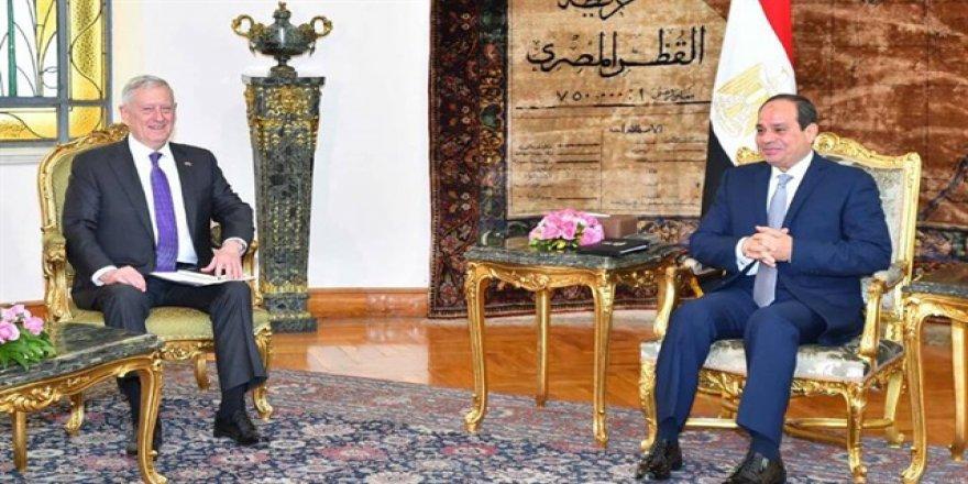 Mattis ile Sisi görüştü