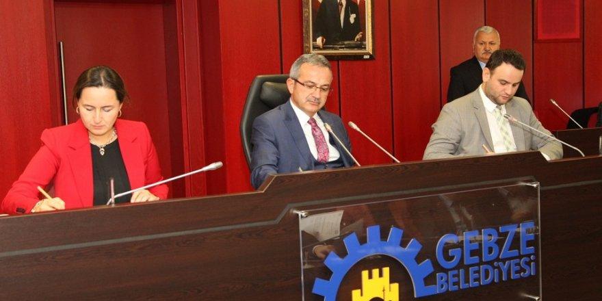 Gebze'de yılınson meclisi yapıldı