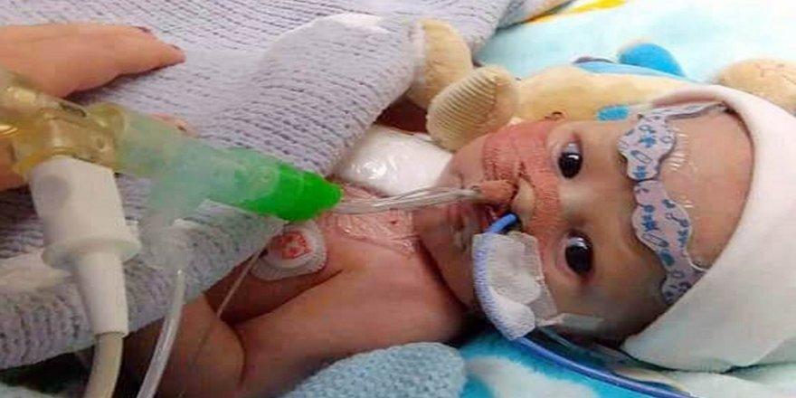 8 aylık bebeğe kalp nakli