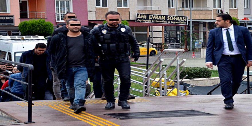 Kaleşnikoflu çeteden 7 kişi tutuklandı