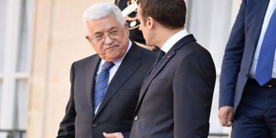 Abbas ile Macron 'Kudüs'ü görüştü