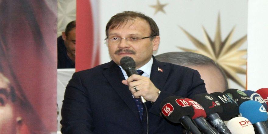 Başbakan Yardımcısı Çavuşoğlu'ndan 'Kudüs' açıklaması