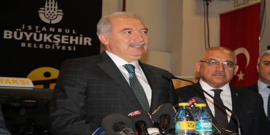 İBB Başkanı Mevlüt Uysal 'İTAKSİ' uygulamasını tanıttı