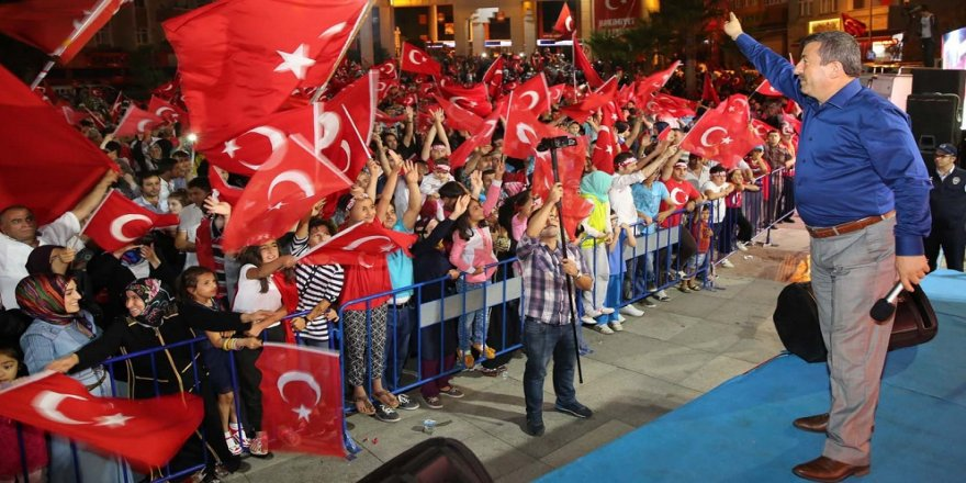 Darıca'da Kudüs'e destek mitingi