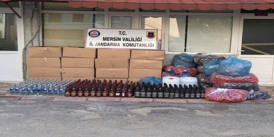 380 litre sahte içki ele geçirildi