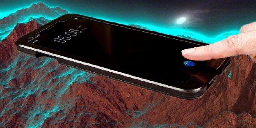 Ekrana gömülü parmak izi sensörü duyuruldu