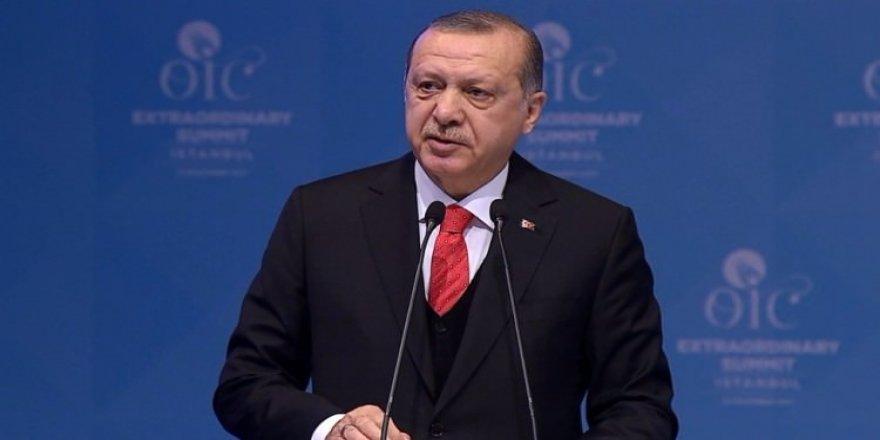Erdoğan'dan 'Kudüs' çağrısı