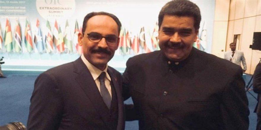 Kudüs zirvesine Maduro da katıldı