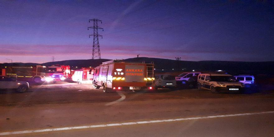 Ankara'da göçük alanında göçük: 2 yaralı