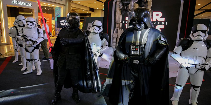 Star Wars filminde, 'İYİ Parti' detayı