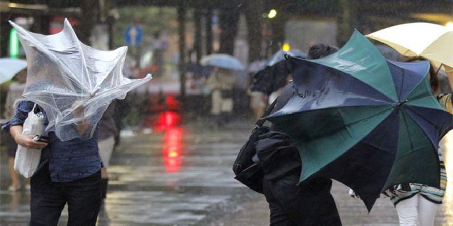 Marmara ve İzmir'de kuvvetli yağış uyarısı