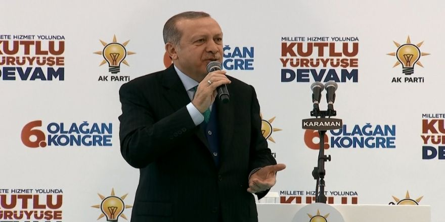 """Erdoğan'dan """"tefrika"""" uyarısı"""