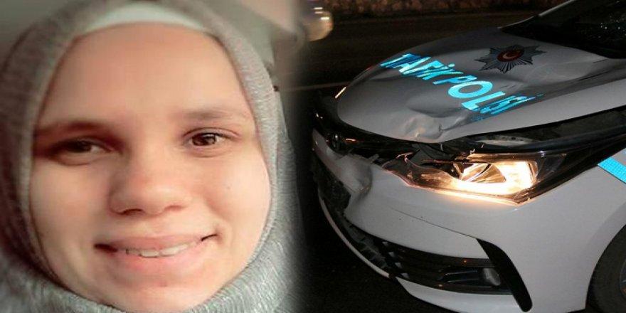 Trafik polisinin çarptığı genç kız öldü