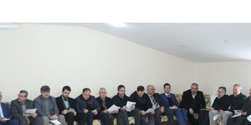 Din görevlileri istişare ve bilgilendirme toplantısında bir araya geldi