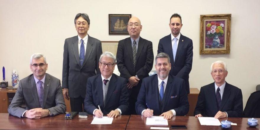 Türk ve Japon akademisyenler arasında imzalar atıldı