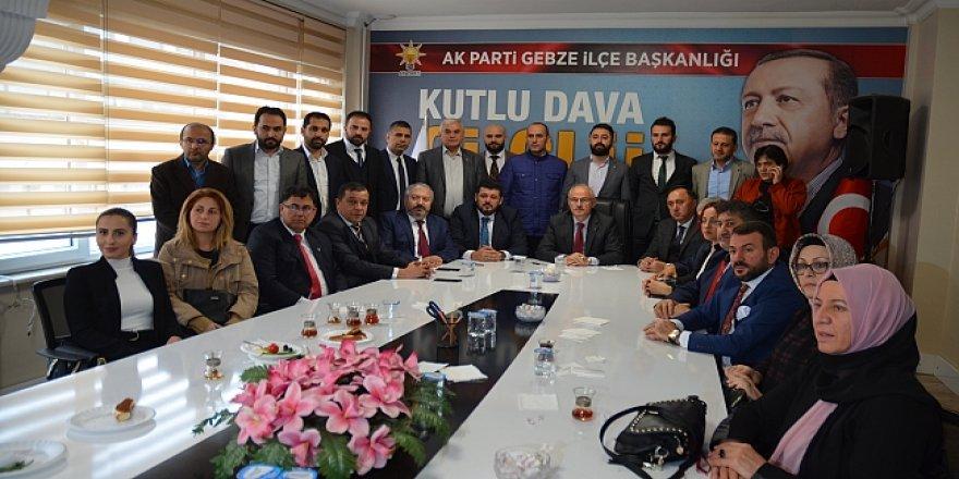 İşte AK Parti Gebze'nin yeni yönetimi