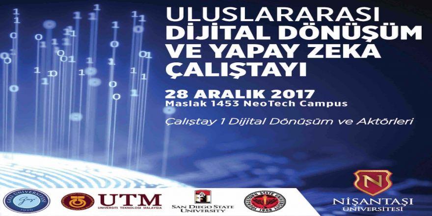 'Dijital dönüşüm ve yapay zeka' İstanbul'da konuşulacak