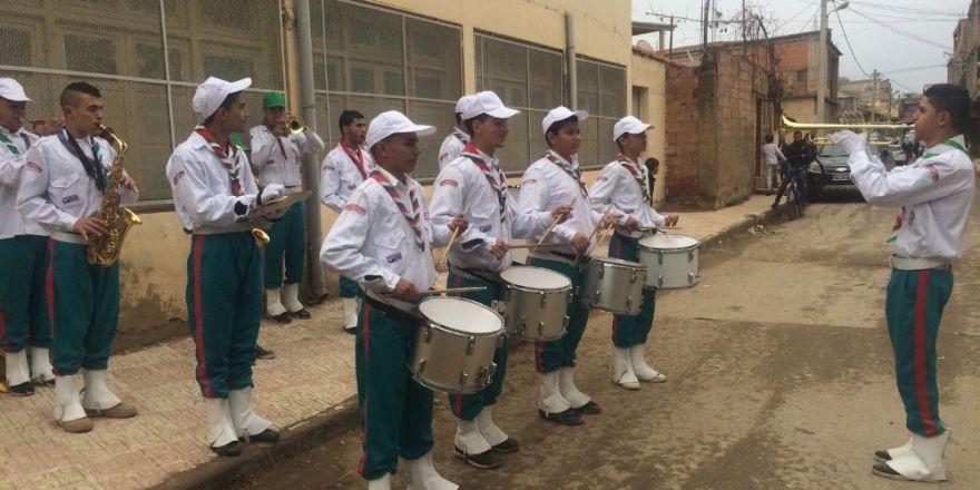 TİKA'dan Cezayirli çocuk izcilere ekipman desteği