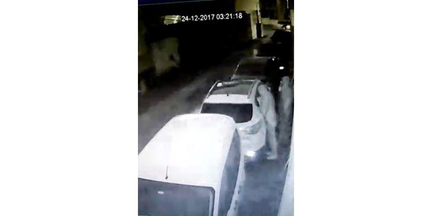 Zamanında devreye giren alarm, hırsızları kaçırdı