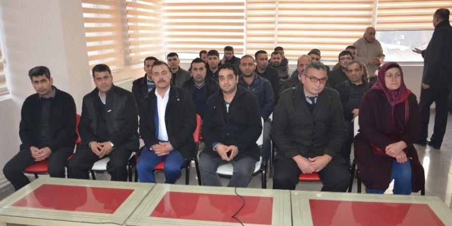MHP İl Başkanı Avşar'dan taşeron işçilere destek sözü