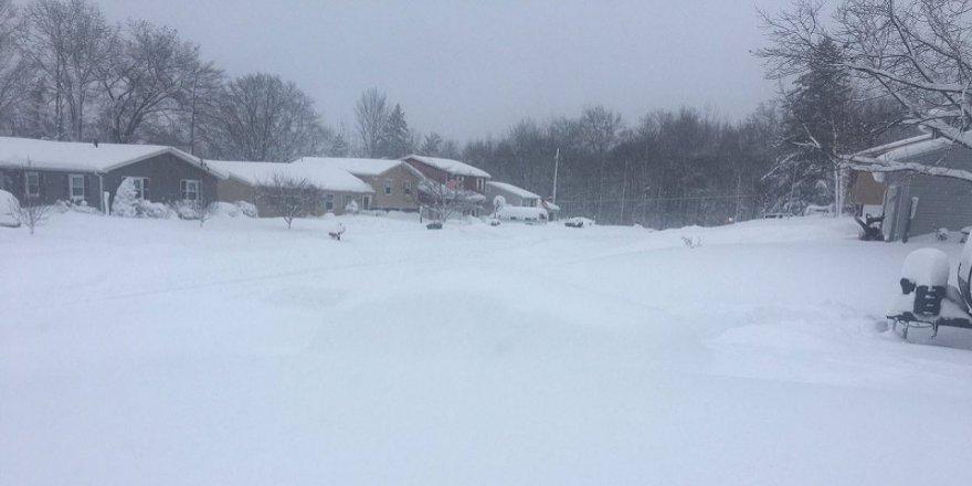 ABD'de kar kalınlığı 1 metreyi aştı
