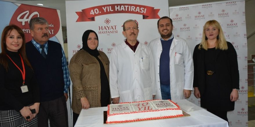Hayat Hastanesi 40. yılını kutluyor