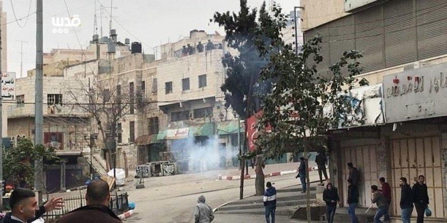 Filistinliler ile İsrail polisi arasında çatışma yaşandı