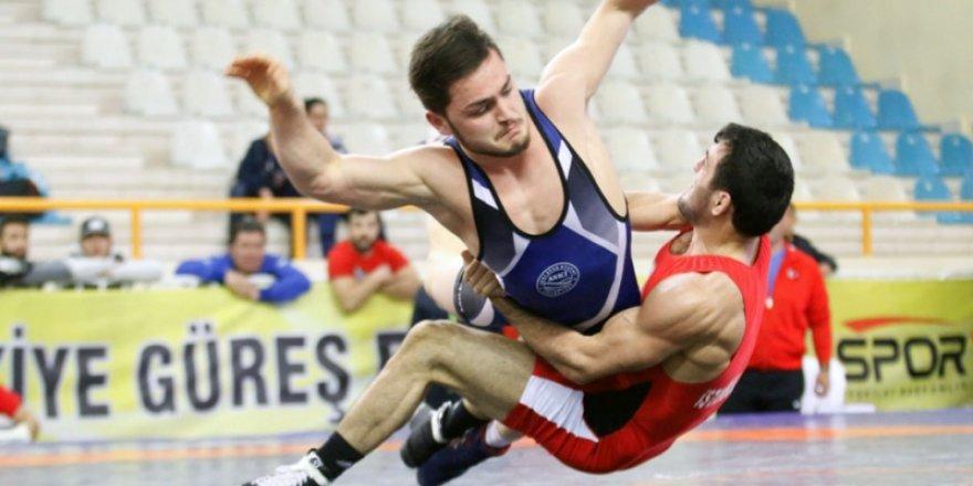 Türkiye Grekoromen Güreş Şampiyonası sona erdi