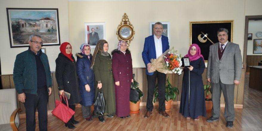 Eğitim camiasından Özkan'a ziyaret