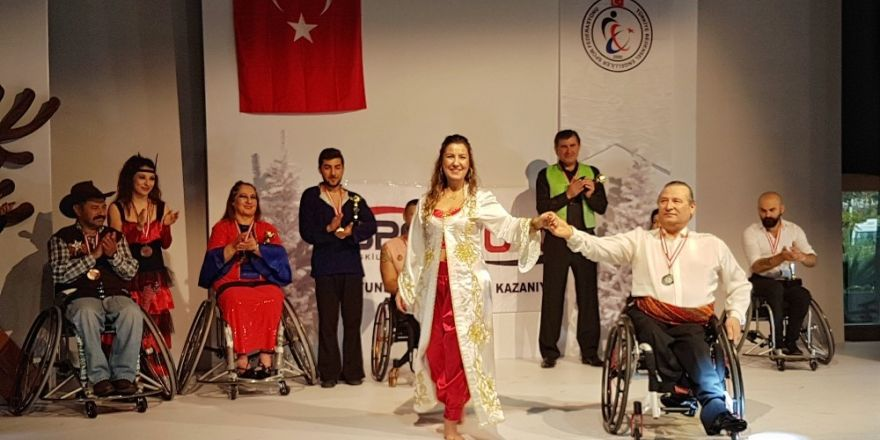 Tekerlekli Sandalye Dans Şampiyonları belli oldu