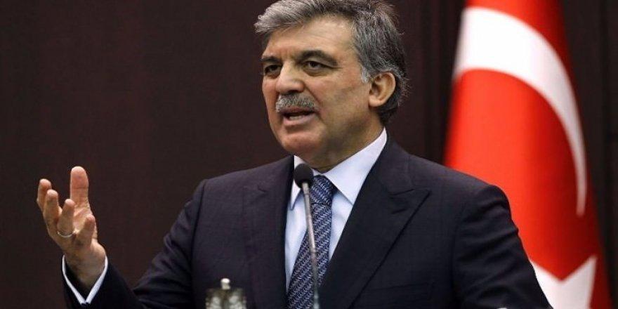 Abdullah Gül'den açıklama geldi!