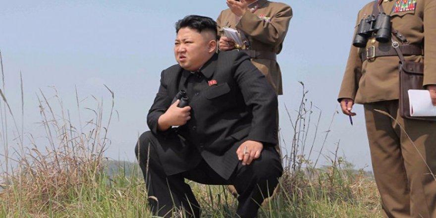 Kim Jong Un'dan 2018'in ilk tehdidi!