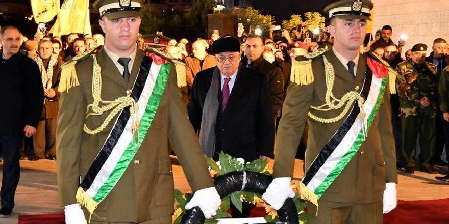 Abbas, Filistin devriminin 53. yıldönümünü kutladı