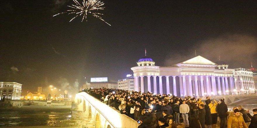 Balkan ülkelerinde yeni yıl coşkuyla karşılandı