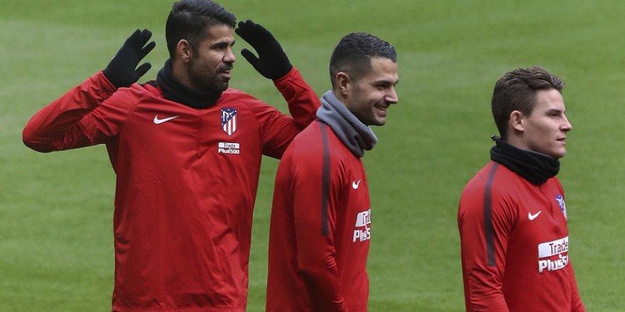 Diego Costa ve Vitolo resmen Atletico Madrid'de