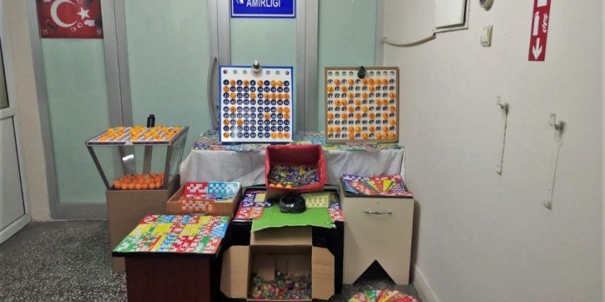 Yılbaşında 'Tombala' kumarı oynayanlara emniyetten suçüstü