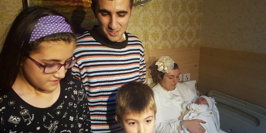 Ankara'da 2018'in ilk bebeği dünyaya geldi