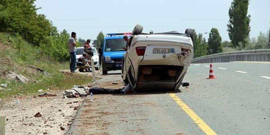 Elazığ'da traktör kazası:1  ölü
