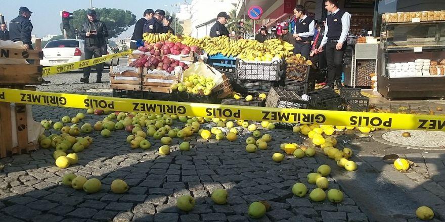 Zabıtayı bıçaklayan seyyar satıcı yakalandı