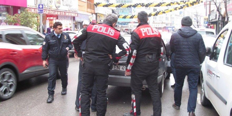 Şehir magandası polisi harekete geçirdi